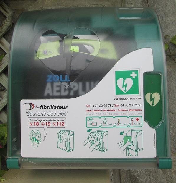 Les défibrillateurs sur la commune