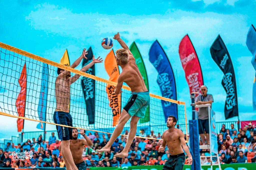 Finale des Estivales de Volley du 29/07 au 1er/08 à Saint-Cast Le Guildo