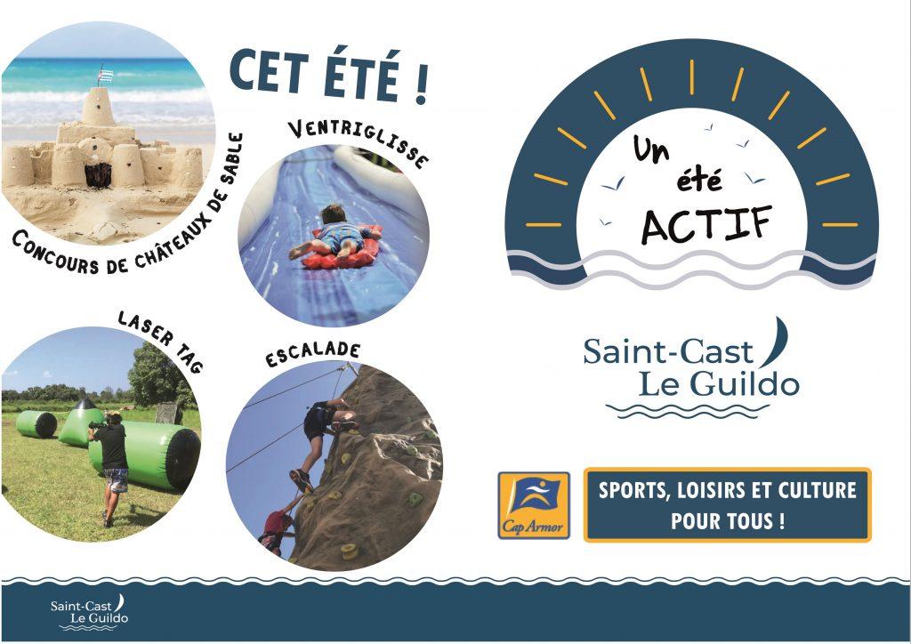 Un été actif à Saint-Cast Le Guildo ! Retrouvez les activités proposées